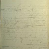 F. 48v. [Imagino el pliegue adusto de vuestra] (se lee en sentido inverso)